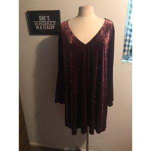 NWT ana Belled Sleeve Dress